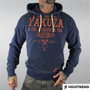 Yakuza Mikina Respuesta Modrá bb69beb738